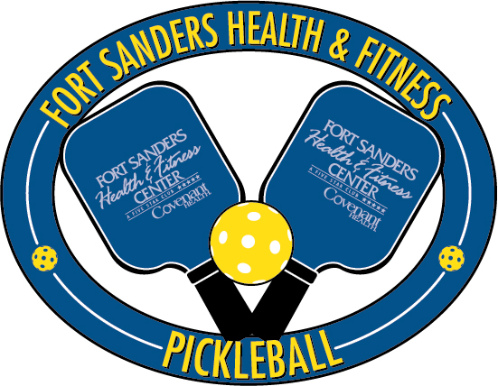 Fort Sanders Health & Fitness Center Pickleball Logo