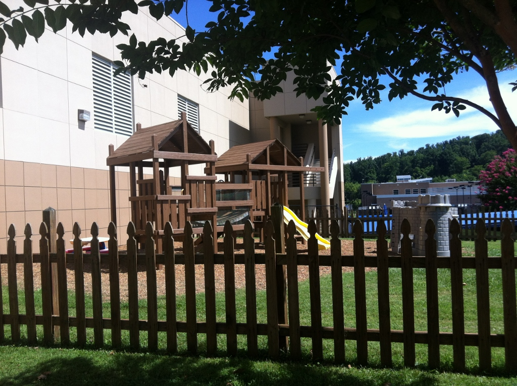 Photo of kid city's outdoor play area