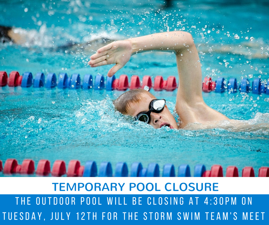 swim meet pool closing 2
