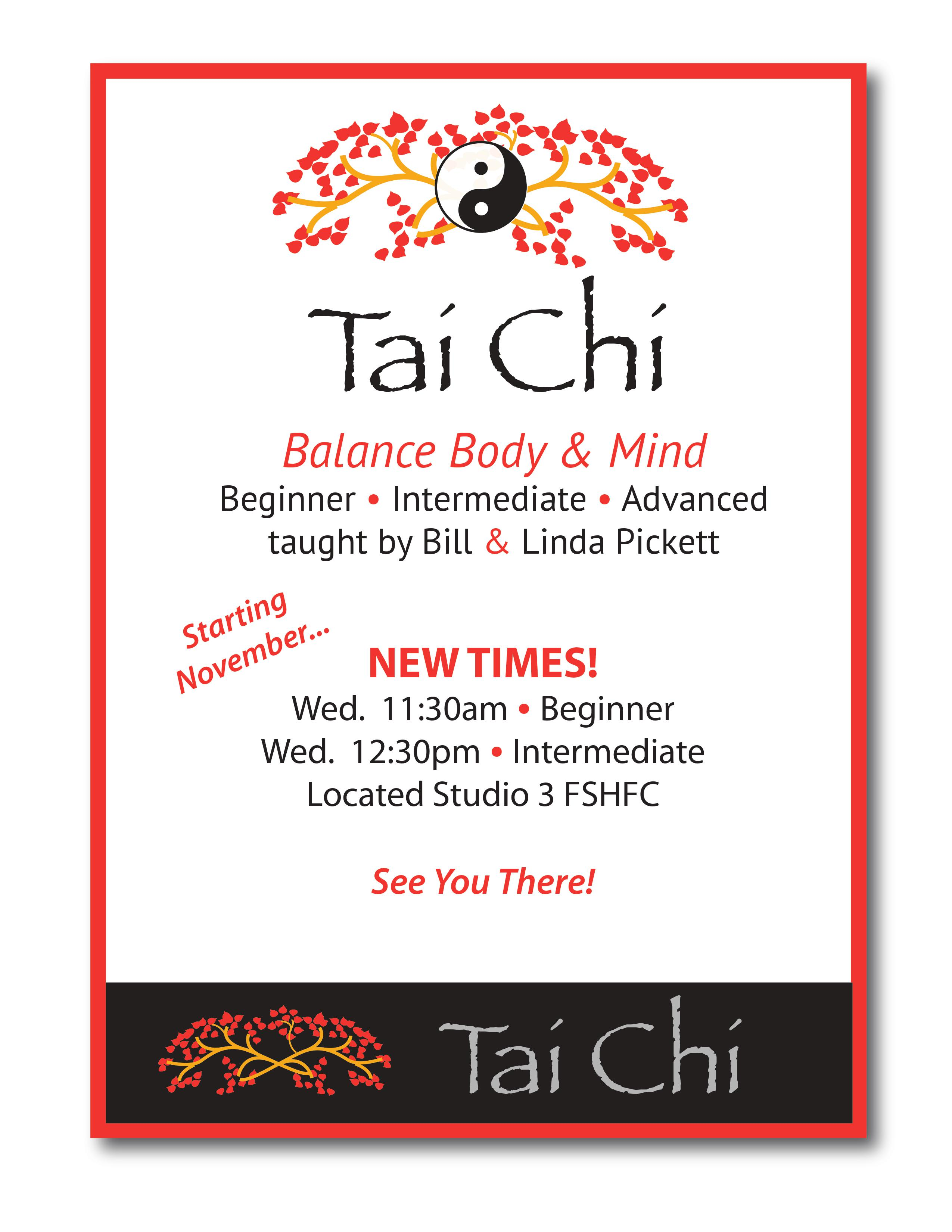 7fbe0ff3707d flyer for new tai chi class times Nov. 2016