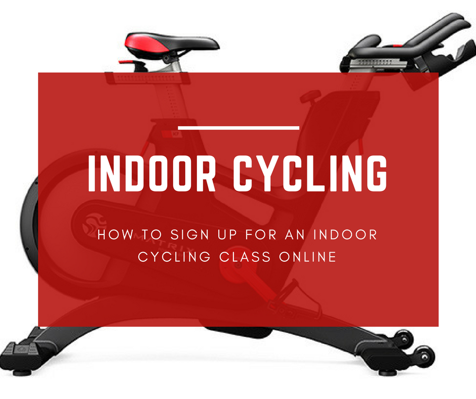 How to Sign Up for an Indoor Cycling Class Online