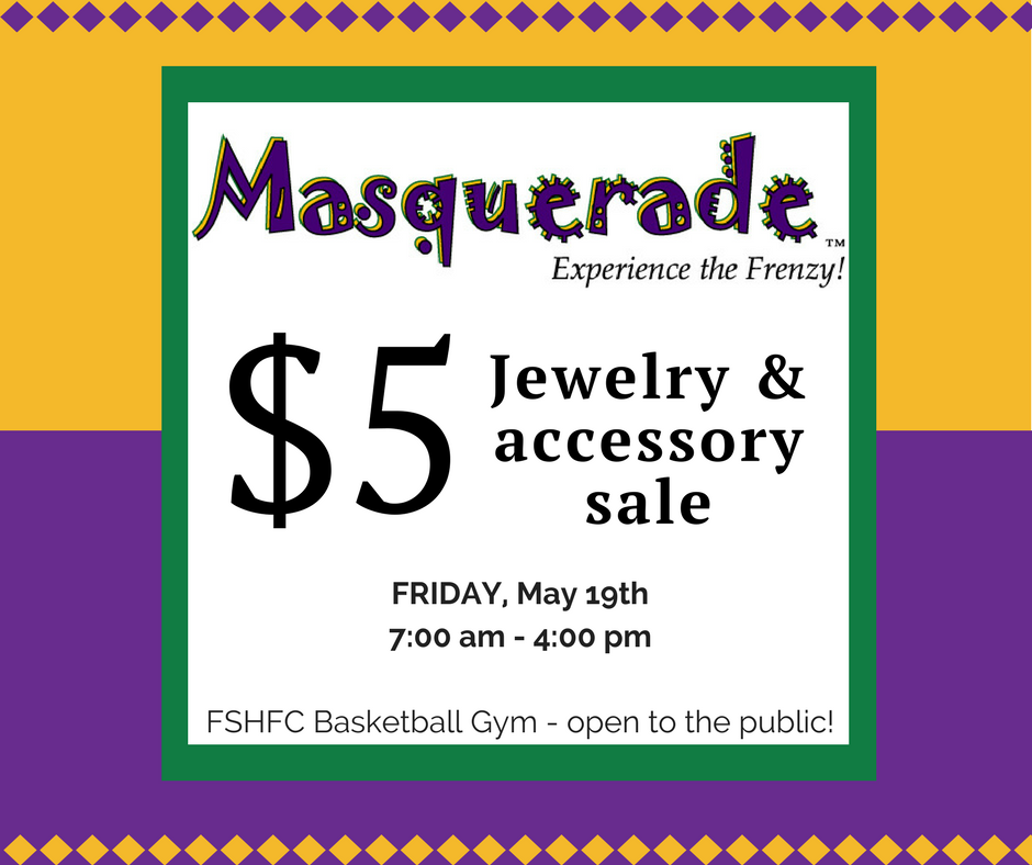 Masquerade Jewelry Sale Ad