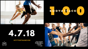 FSHFC BODYATTACK™ 100 Launch