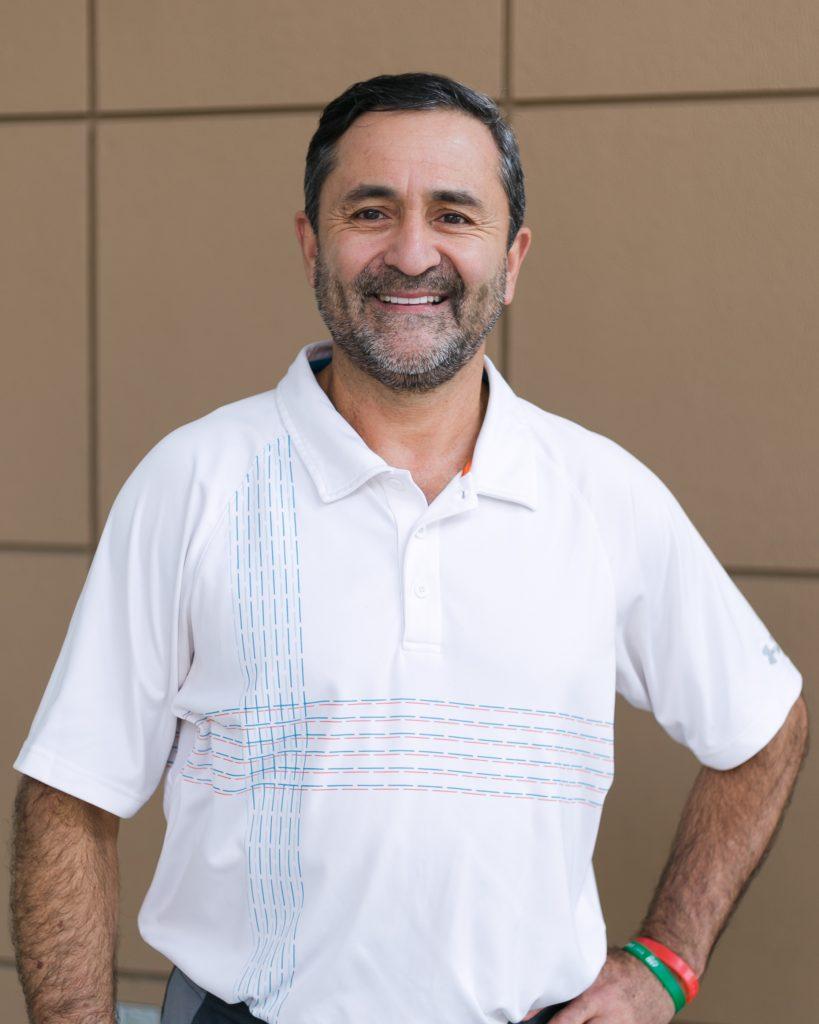 Fort Sanders Tennis Coach Mario Dorado