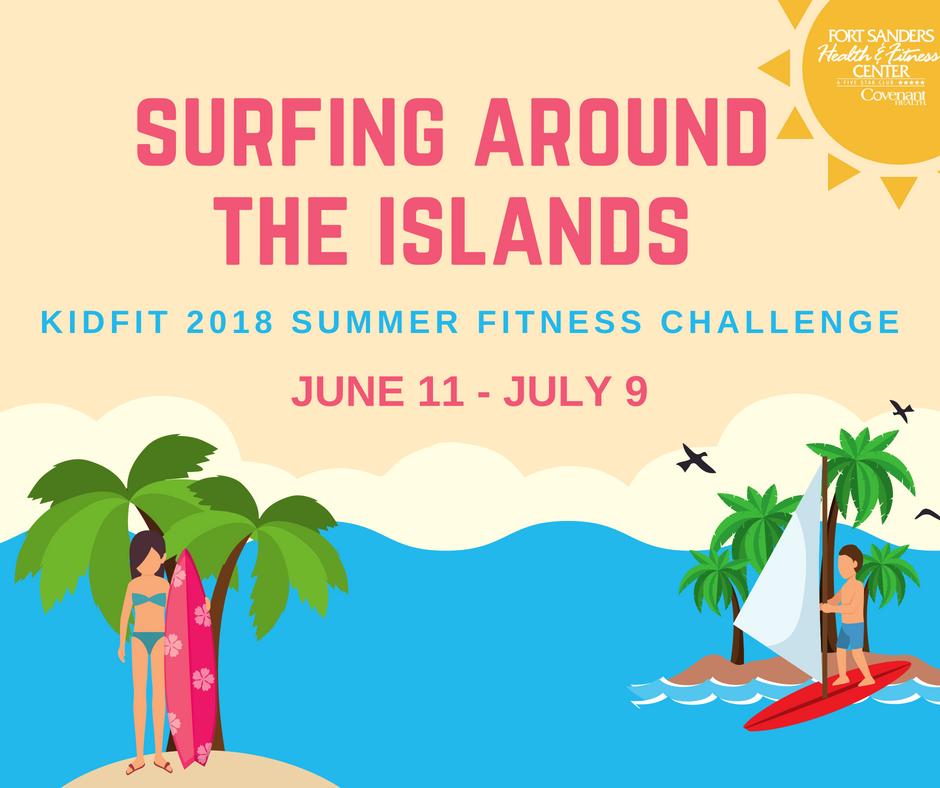 2018 KidFit Summer Fitness Challenge