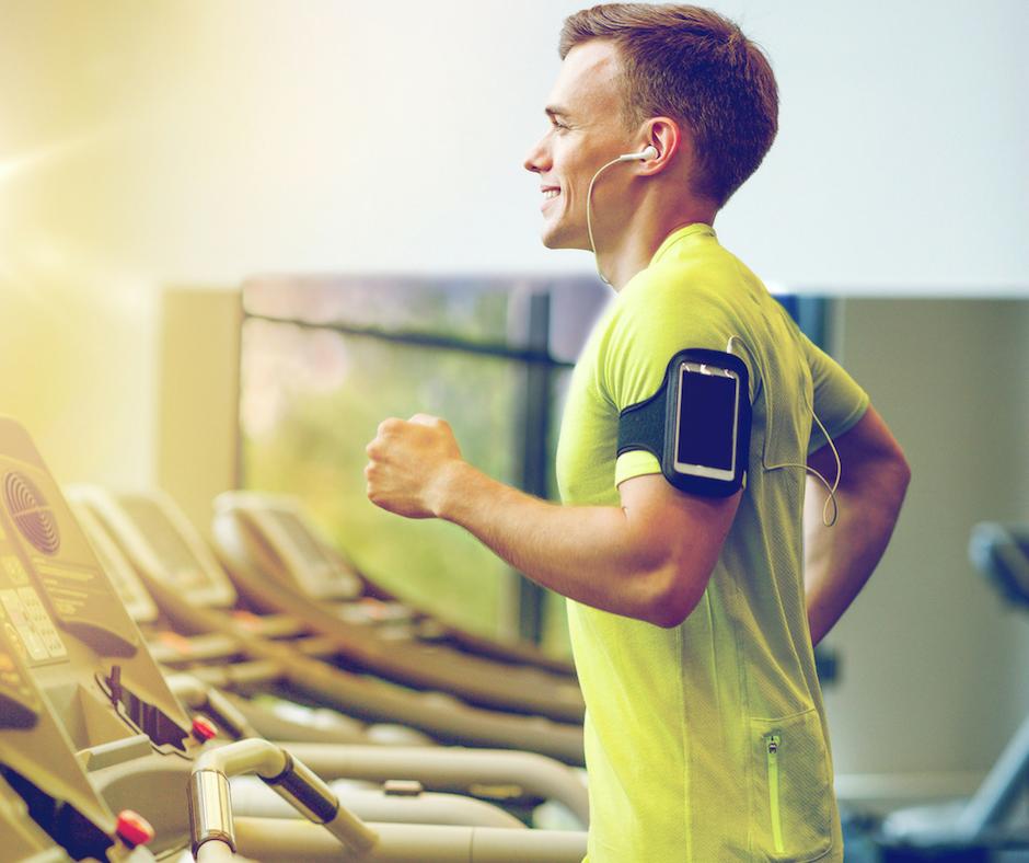 FSHFC Man Running on Treadmill