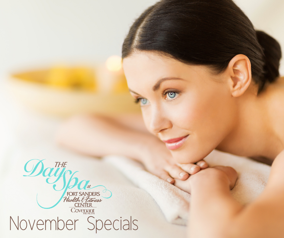 The Day Spa at FSHFC November 2018 Specials