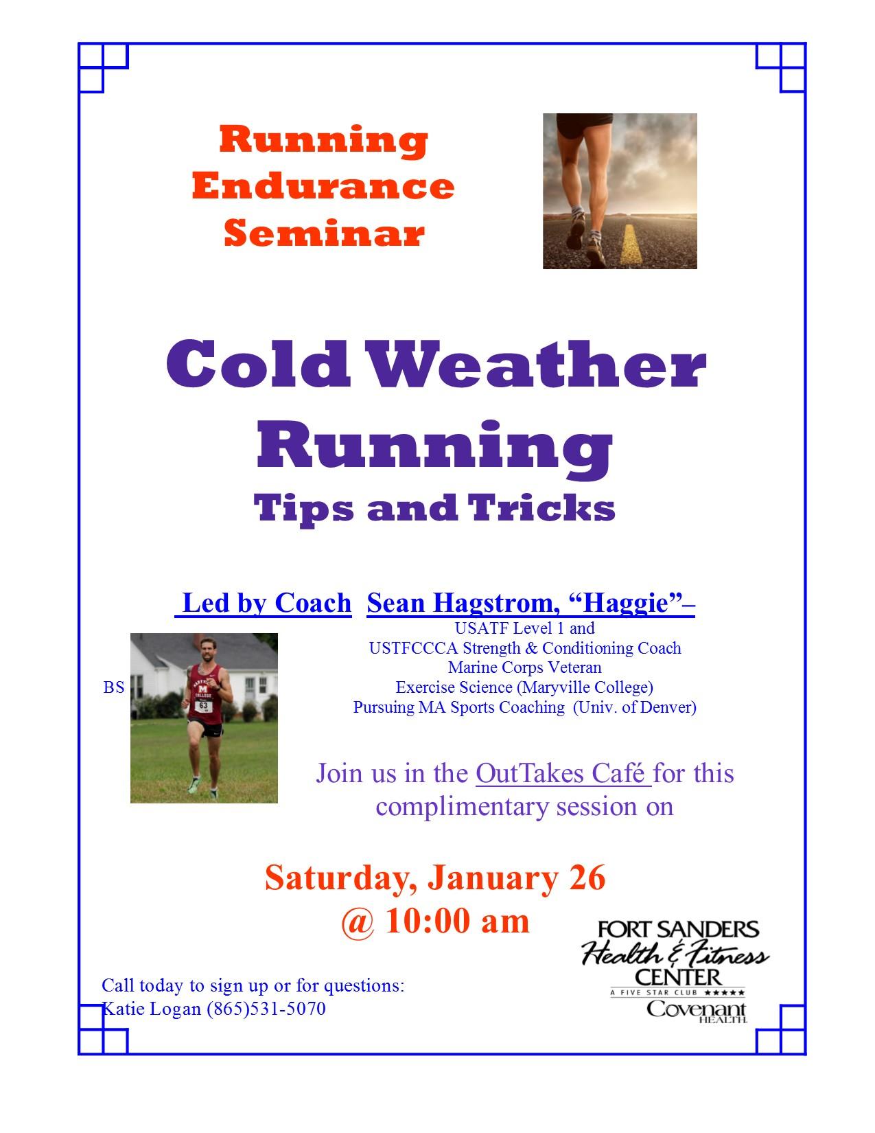 running training seminar | Fort Sanders Health and Fitness