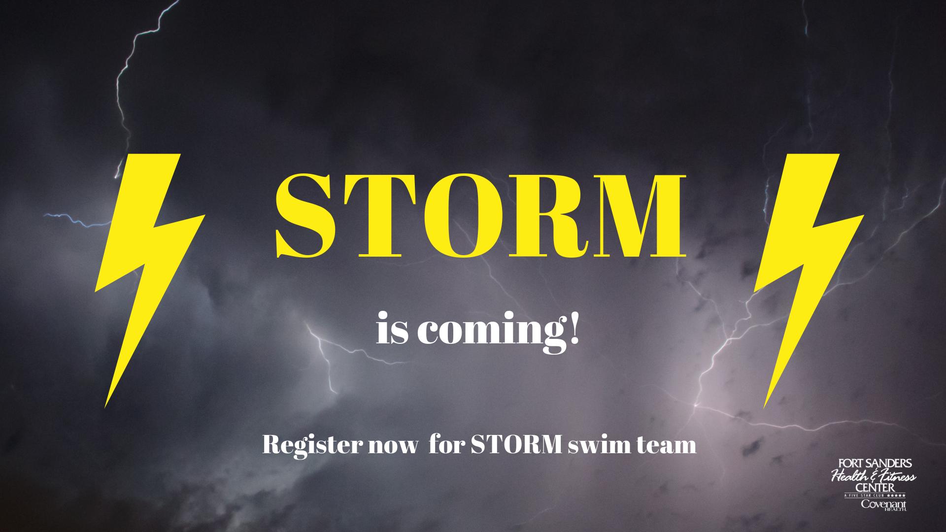 Storm Swim team