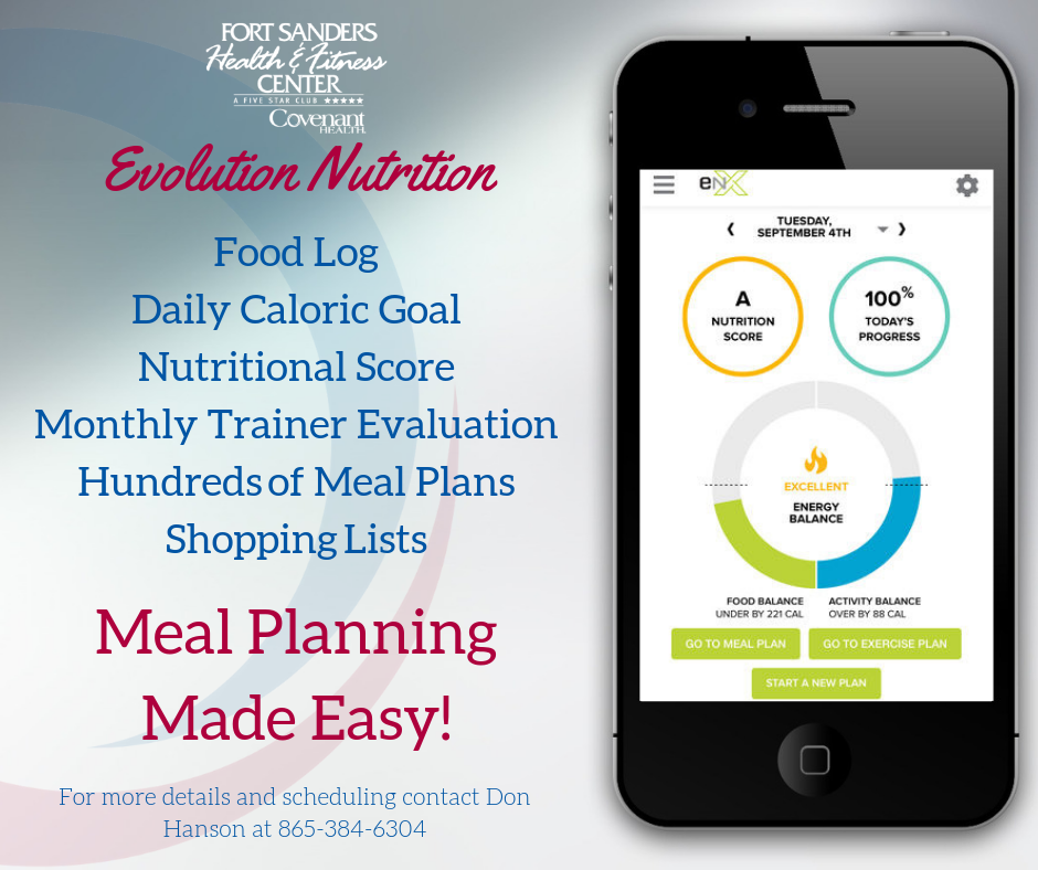 Evolution Nutrition App