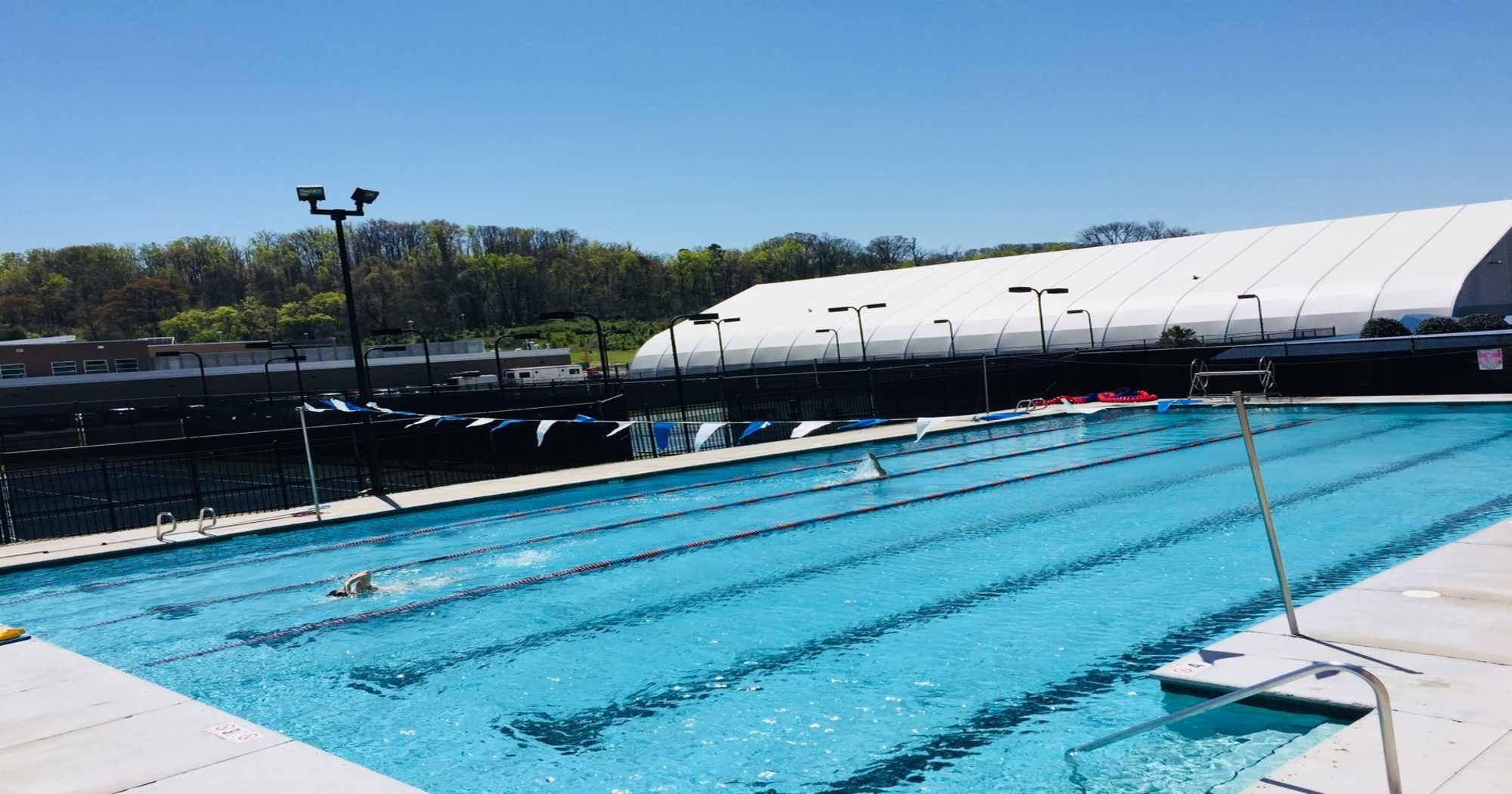 Outdoor pool in knoxville
