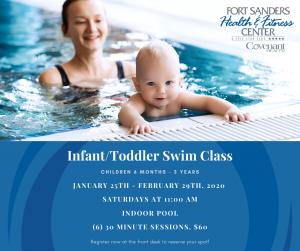 Infant/toddler swim lessons