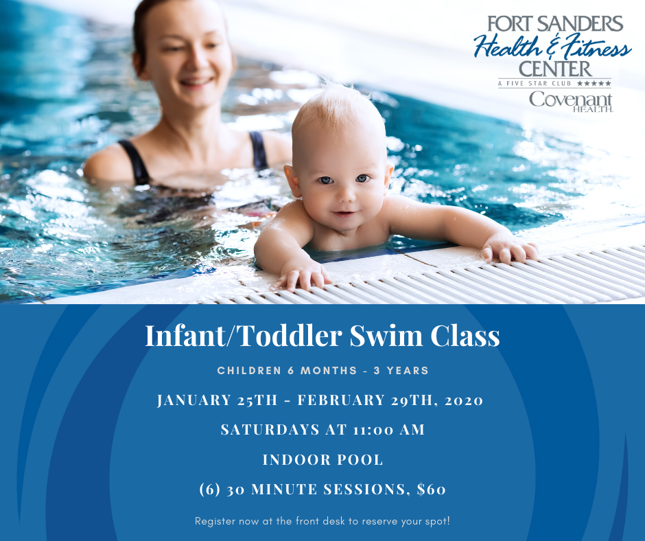Infant/toddler swim lessons