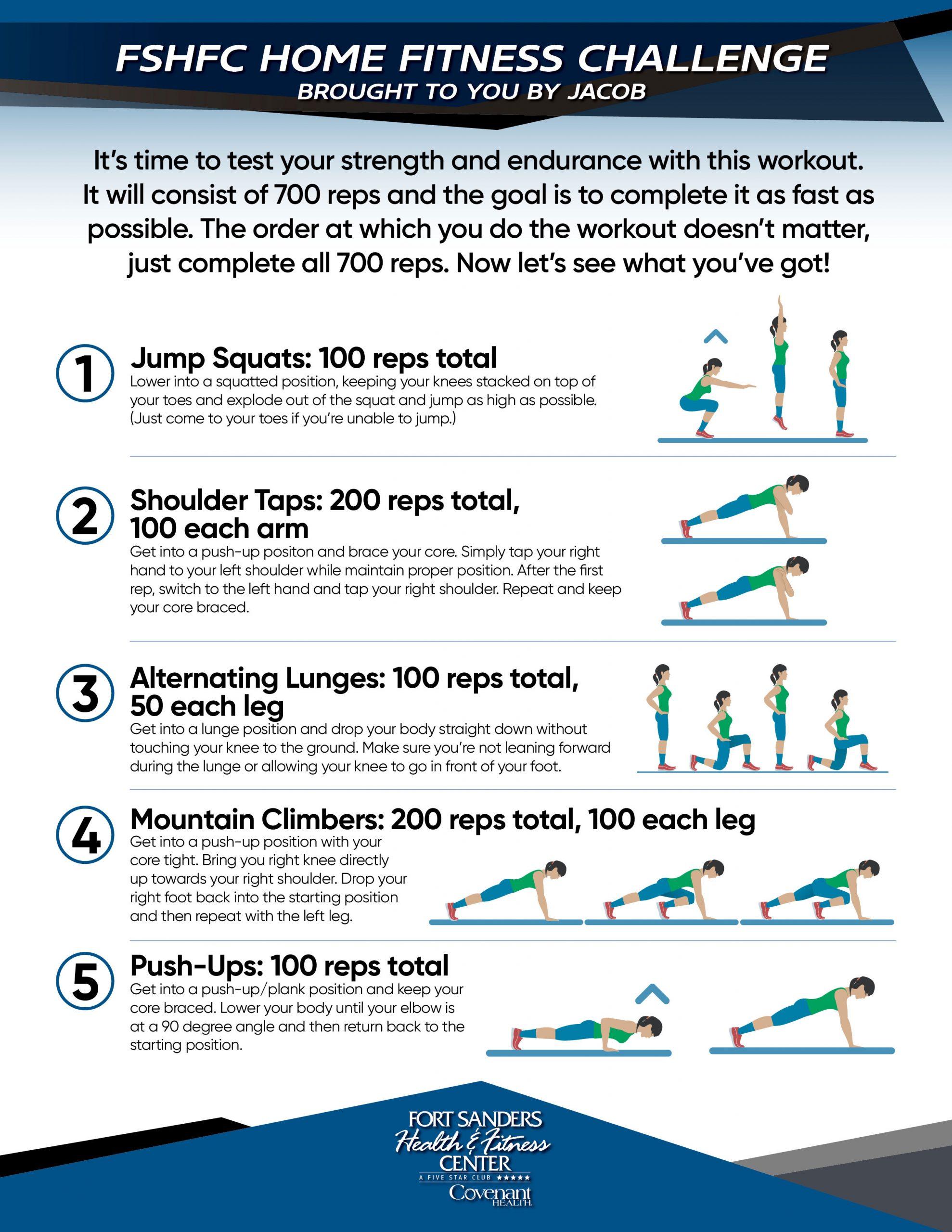 Home Fitness Challenge