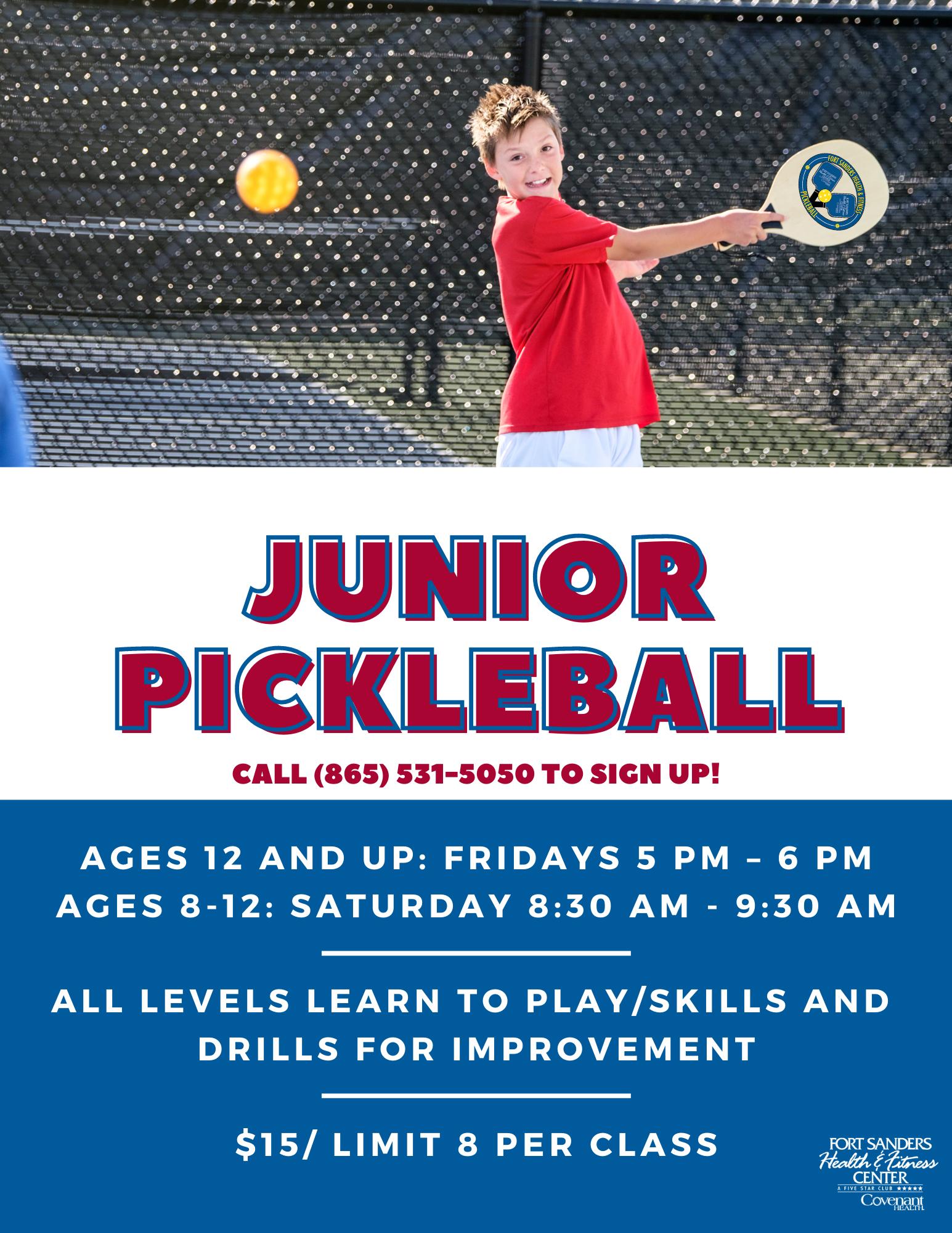 Junior Tennis Flyer