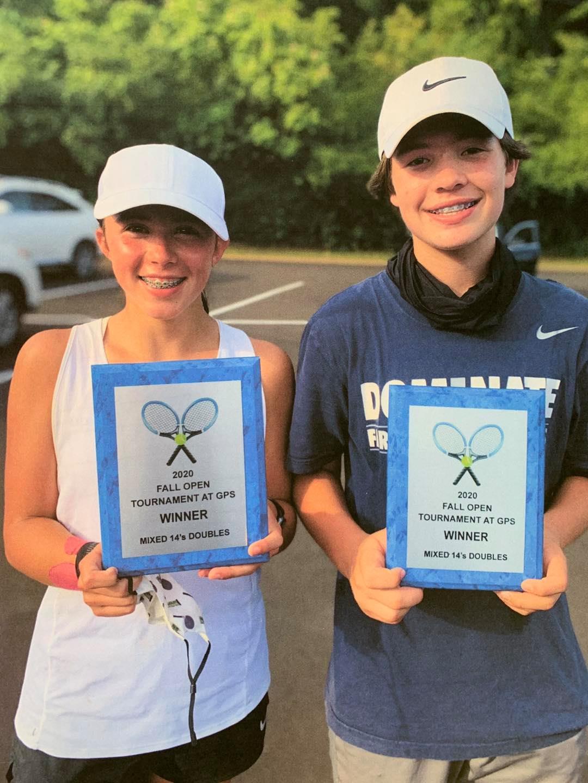 14's Tennis State Champions