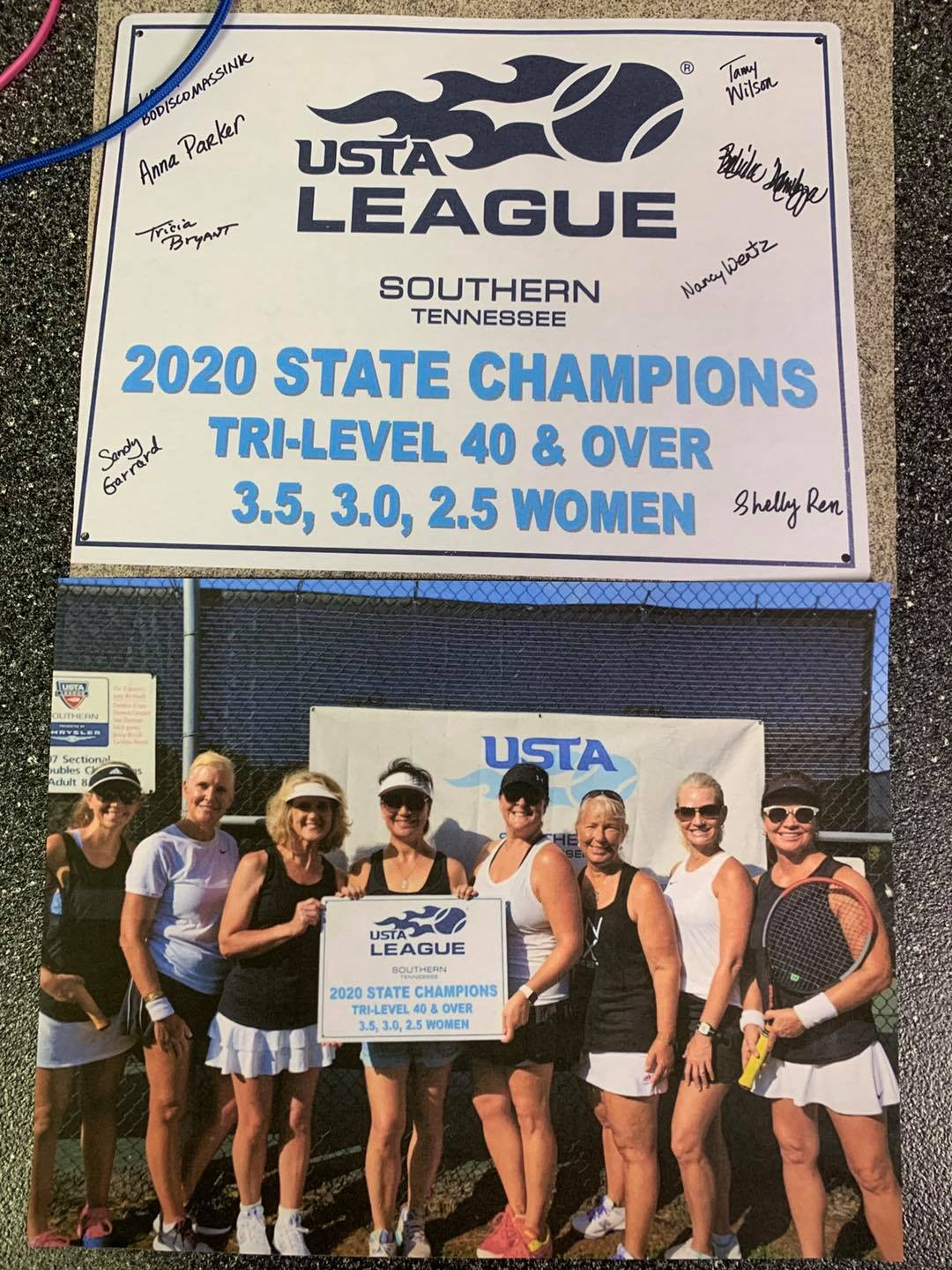 Adult Tennis State Champions